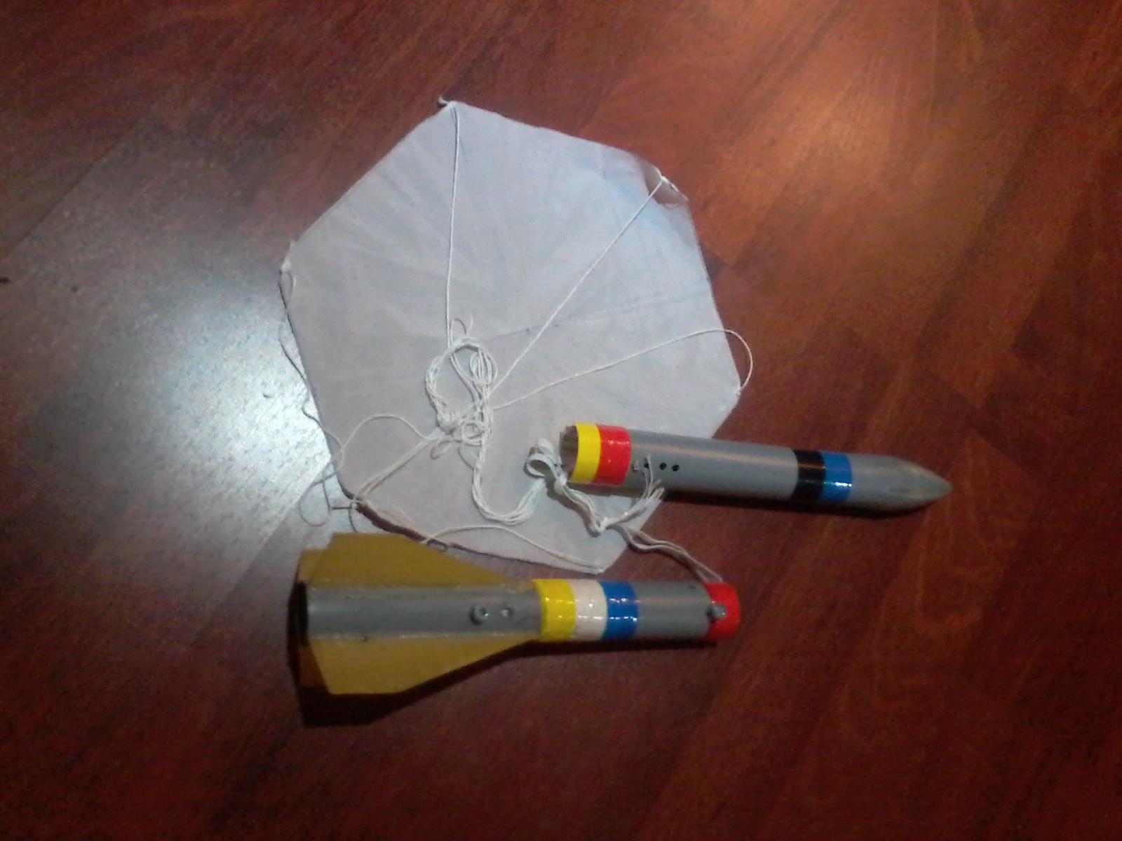 Парашют для модели ракеты своими руками